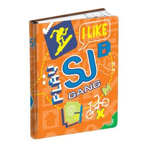 Cartoleria Diario 10 mesi non datato SJ Gang Boy I Like Play Seven