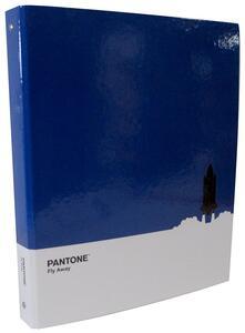 Quaderno copertina ad anelli Pantone. Blu Skyway. Shuttle
