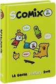 Cartoleria Diario Comix 2018-2019, 16 mesi, medium Scottecs by Sio. Verde Comix