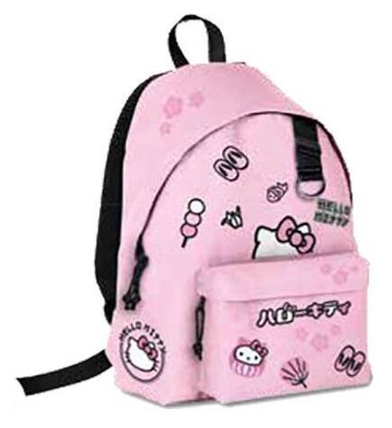 4563d0c57a Zaino americano Hello Kitty. Rosa - Auguri Preziosi - Cartoleria e scuola |  IBS