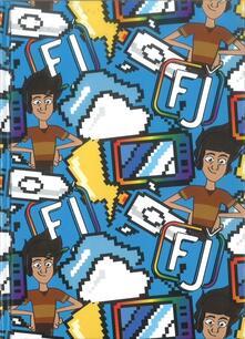 Diario Favij 10 mesi non datato con copertina rigida. Color