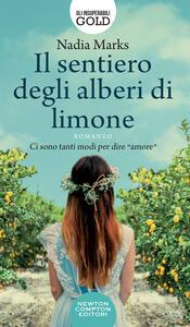 Il sentiero degli alberi di limone - Nadia Marks - copertina