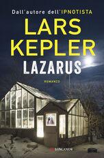 Libro Lazarus. Copia autografata Lars Kepler