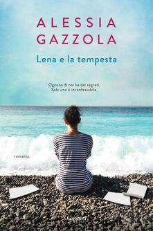 Lena e la tempesta. Copia autografata - Alessia Gazzola - copertina