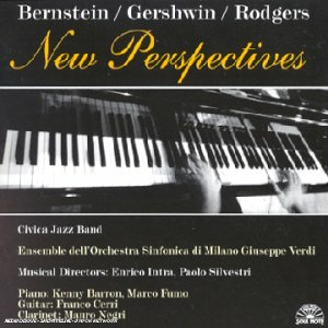 CD Bernstein/Gershwin/Rodgers Franco Cerri , Civica Jazz Band , Enrico Intra