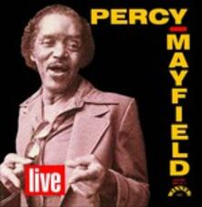 Live - CD Audio di Percy Mayfield