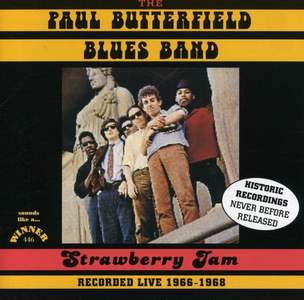 CD Strawberry Jam di Paul Butterfield (Blues Band)