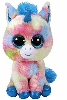 Ty. Boo Buddy. Blitz Blue Unicorn /Toys