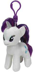 Giocattolo Peluche a Clip My Little Pony Rarity Ty 0