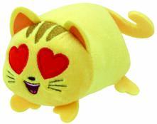 Ty. Teeny Ty. Emoji. Peluche Cat Heart Eye