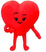 Ty. Emoji Peluche 20Cm. Heart
