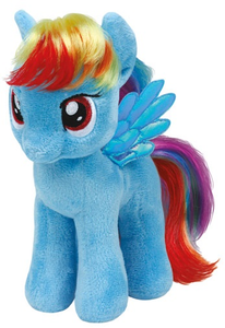 Giocattolo Peluche My Little Pony Rainbow Dash Ty 0
