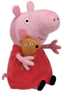 Peluche Peppa Pig Vestito Rosso