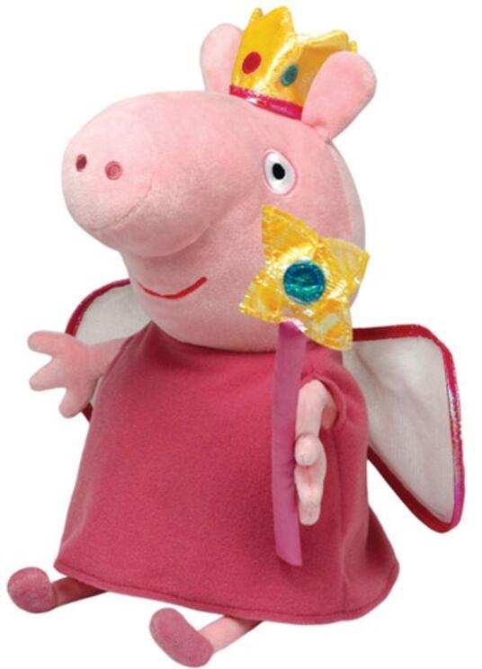 Peluche Peppa Pig Principessa Fate