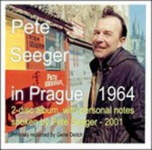 CD In Prague 1964 di Pete Seeger