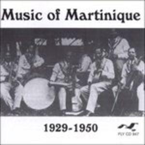 CD Music of Martinique 1929