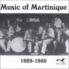 Music of Martinique 1929 - CD Audio