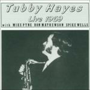 CD Live 1969 di Tubby Hayes