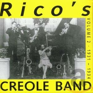 Foto Cover di Volume 2 1931-1934, CD di Rico's Creole Band, prodotto da Harlequin Music