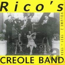 Volume 2 1931-1934 - CD Audio di Rico's Creole Band
