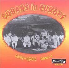 Cubans in Europe vol.2 - CD Audio
