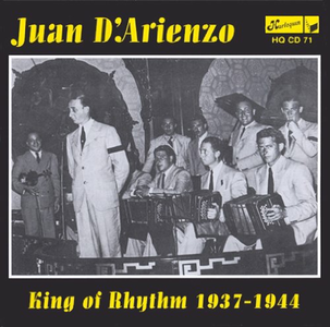 CD King of Rhythm 1937-1944 di Juan D'Arienzo