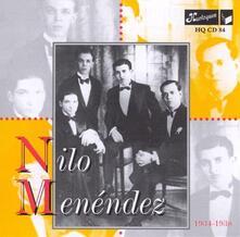 1934-1938 - CD Audio di Nilo Menendez