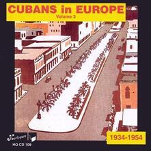 Cubans in Europe 3 - CD Audio