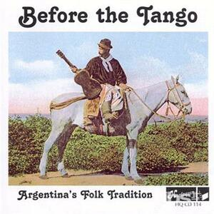 Before the Tango - CD Audio