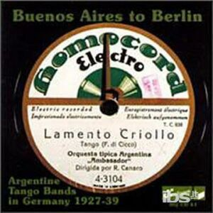 CD Buenos Aires to Europe