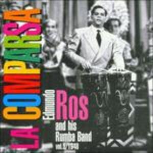 Foto Cover di La Comparsa, CD di Edmundo Ros, prodotto da Harlequin