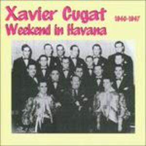 Foto Cover di Weekend in Havana, CD di Xavier Cugat, prodotto da Harlequin