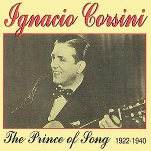 CD Prince of Song di Ignacio Corsini