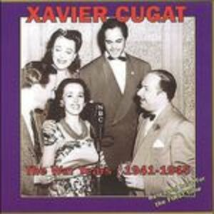 Foto Cover di War Years 1941-1945, CD di Xavier Cugat, prodotto da Harlequin