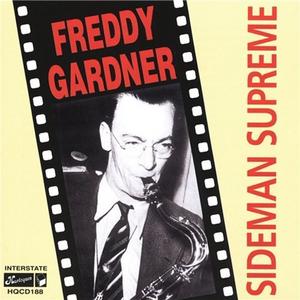 CD Sideman Supreme di Freddy Gardner