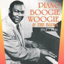 Piano Boogie Woogie - CD Audio