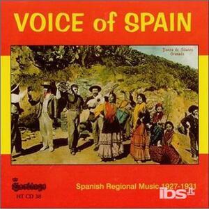 Voice of Spain - CD Audio