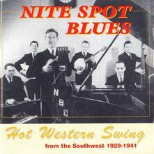 Nine Spot Blues - CD Audio