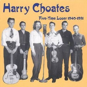 Foto Cover di Five Time Loser, CD di Harry Choates, prodotto da Krazykat