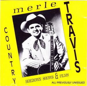 Foto Cover di Hoedown Shows & Films, CD di Merle Travis, prodotto da Country Routes