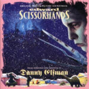CD Edward Mani di Forbice (Edward Scissorhands) (Colonna Sonora) di Danny Elfman
