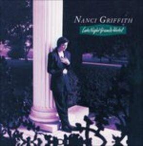 CD Late Night Grand Hotel di Nanci Griffith