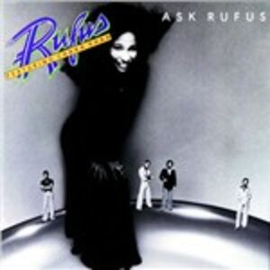 Foto Cover di Ask Rufus, CD di Rufus, prodotto da MCA