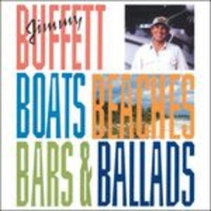 CD Boats Beaches Bars & Ballads di Jimmy Buffett