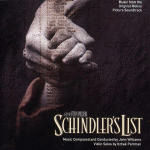 Cover CD Colonna sonora Schindler's List