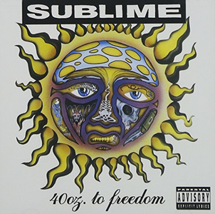 CD 40 Oz. Of Freedom di Sublime