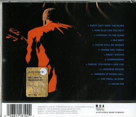 Live in Japan - CD Audio di B. B. King - 2