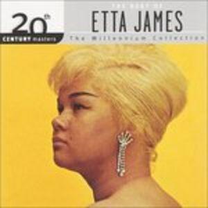 Foto Cover di 20th Century Masters. The Best of Etta James, CD di Etta James, prodotto da Geffen