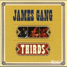 Thirds - CD Audio di James Gang