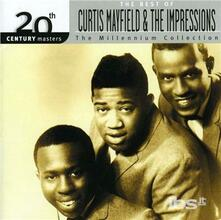 20th Century Masters - CD Audio di Curtis Mayfield,Impressions